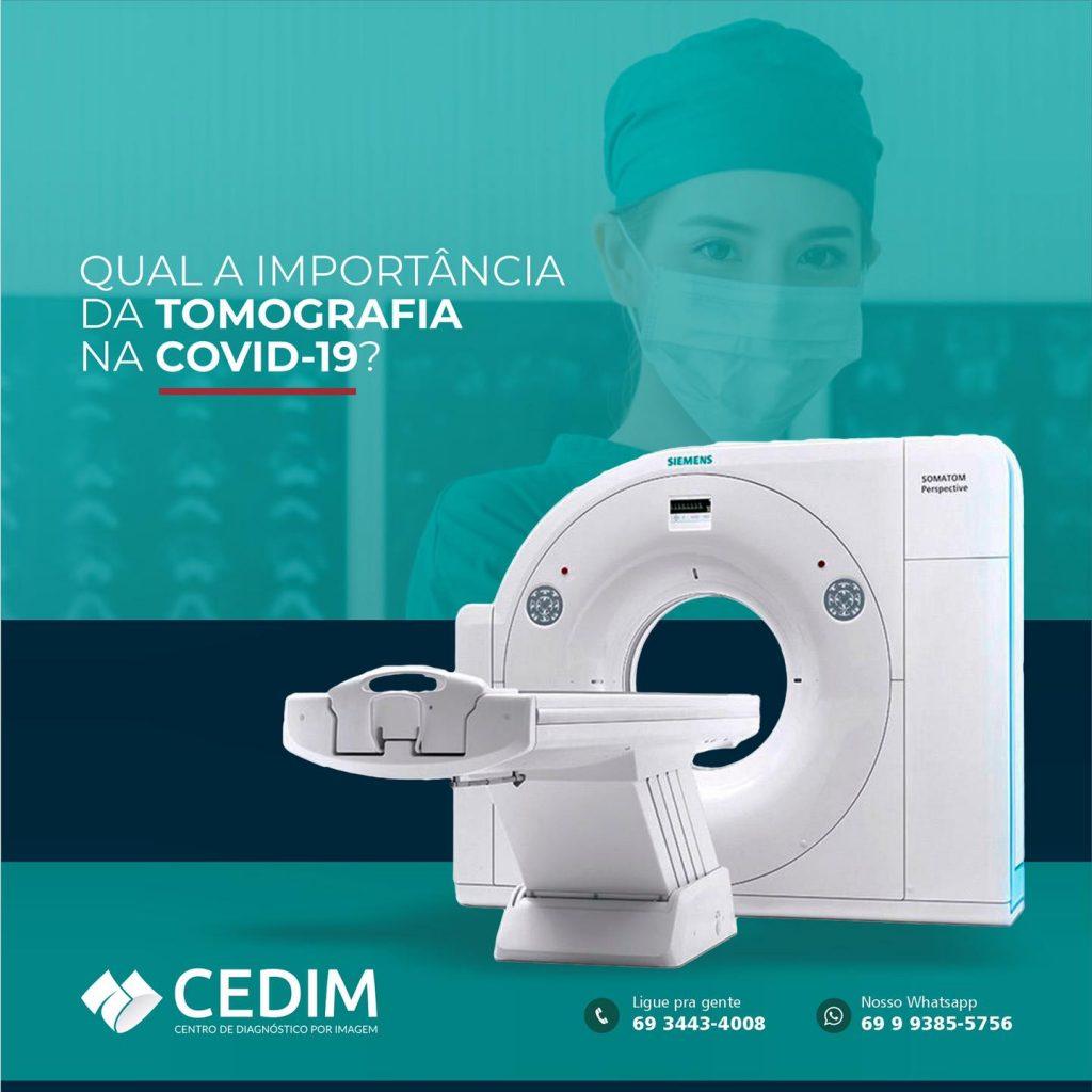 Qual a importância da Tomografia?